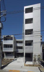 目黒区柿の木坂のマンション
